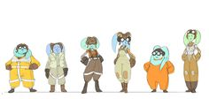 Concept art for Hera Syndulla for STAR WARS REBELS