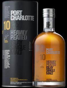 Port Charlotte The Ten Year Old Whisky - Peated Islay Single Malt Scotch