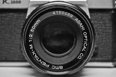 Pentax K1000 B Lens Photography by JumpingHandicrafts on Etsy, $20.00