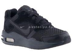 Siesta gyerekcipő márkabolt és gyerekcipő webáruház :: NIKE cipők :: Nike gyerekcipő 27.5-35-ös méretig :: NIKE AIR MAX GUILE fekete fűzős sportcipő (27.5-35) All Black Sneakers, Sneakers Nike, Guilin, Birkenstock, Nike Air Max, The North Face, Toms, Converse, Adidas