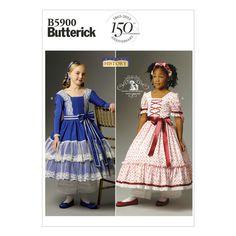 Mccall Pattern B5900 6-7-8 -Butterick Pattern