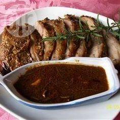 Classic Rosemary Roast Leg of Lamb @ allrecipes.com.au