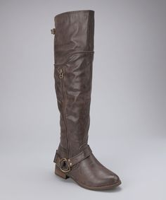 Brown Park Over-The-Knee Boot