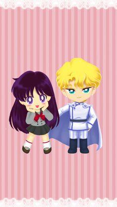 Wallpaper Fanmade Rei & Jadeite from Sailor Moon Drops