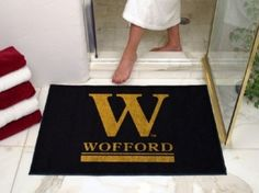 Wofford Terriers All-Star Welcome/Bath Mat Rug 34X45