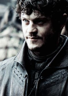 "Iwan Rheon as Ramsay ""Snow"" Bolton in Game of Thrones  -you creepy as fuck in this show but i still love you bb boi"