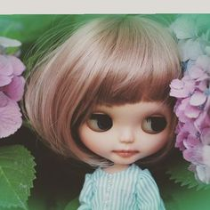 ◟̆◞̆♡ はじめまして♡ * * * #customchillin#doll#blythe#blythedoll#ポートレート