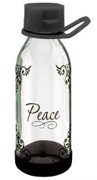 WATER BOTTLE:  PEACE (WBT064). Available from CUM Books in South Africa.