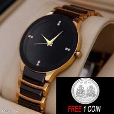 Watches FREE 1 PCS SILVER COLOR COIN Analogue gold Dial Basics Wrist Watch for Men - IIK Full gold Men Strap Material: Metal Display Type: Analogue Size: Free Size Multipack: 1 Sizes Available: Free Size   Catalog Rating: ★4.1 (6384)  Catalog Name: Attractive Men Watches CatalogID_1780227 C65-SC1232 Code: 882-9975867-234