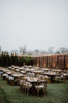 Outdoor wedding at the Cordelle // Nashville Wedding Flowers