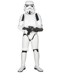 STAR WARS COSTUMES: : Star Wars Stormtrooper Costume Armor with Accessories and Ready to Wear - Original Replica - A New Hope - STANDARD SIZE
