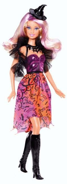 2013 Halloween Barbie - she is absolutely gorgeous and I love the pink streaks in her hair!