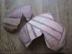 Hohokam Pottery Tanque Verde Red on White Partial Bowl Anasazi 11 | eBay