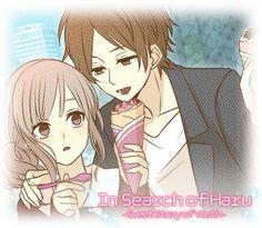 In search of haru - otome game Under The Rain, Teen Romance, Anime Couples, Novels, Kawaii, Manga, Fan Art, Cute, Blushes