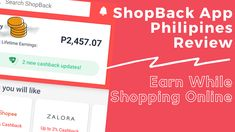 If you are a regular online shopper, and I think most are now during this community quarantine, then I highly recommend using ShopBack app. It's easy and there are no nuisances when you shop, it's just shopping as usual except for this extra 1 step – that is going to the app. Easy! Just Shop, Earn Money, Philippines, Online Shopping, Community, App, Earning Money, Net Shopping, Apps