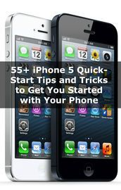 55  iPhone 5 Quick-Start Tips and Tricks to Get You Started With Your Phone | http://paperloveanddreams.com/book/563951180/55-iphone-5-quick-start-tips-and-tricks-to-get-you-started-with-your-phone | My parents are official iPhone users. I began writing this book when I realized that they could make phone calls and take pictures, but didn't have the faintest idea how to make the text size bigger on their text messages or a number of other things that I thought were common sense after using…