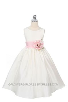 This is the one i got for Addie at my wedding!     Flower Girl Dress Style 104-BUILD YOUR OWN DRESS! Choice of 139 Sash and 51 Flower Options! $49.99