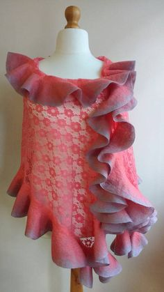 Check out this item in my Etsy shop https://www.etsy.com/uk/listing/274664720/elegant-lace-ruffled-shawl-for-women
