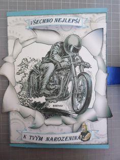 motorkářské přání k narozeninám 484 best MOJE TVORBA images on Pinterest motorkářské přání k narozeninám