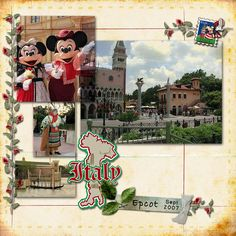 Italy layout - Page 2 - MouseScrappers.com