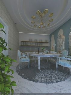 Morrocan style diningroom versi saya. Untuk project Pak Abdullah, Pagesangan, Surabaya