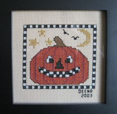 Cross Stitch Halloween 2003