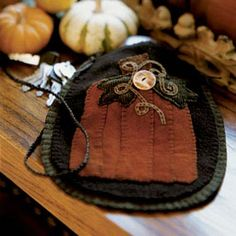 cool bag from felted wool