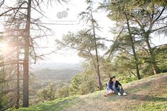 jaclyn   mike | engagement | griffith park   griffith observatory
