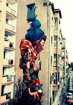 Street art.... Yes I'm wierd I know:: but I love this...