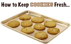 How to Keep Cookies Fresh...