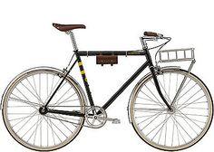 Felt-Bicycles-York-Black-RH-58cm-Single-Speed-Fixie-Urban-Bike-im-Vintage-Look