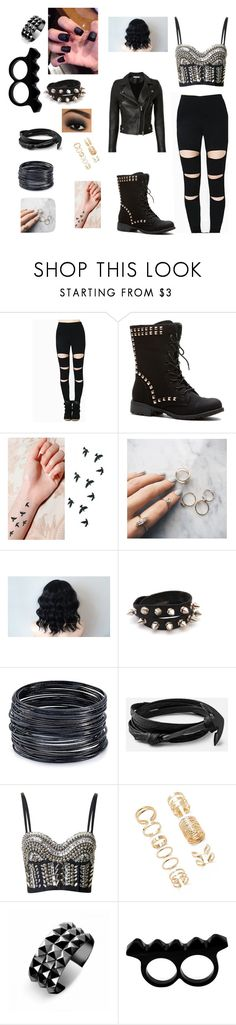 """""""Untitled #1"""" by gissellebeltre on Polyvore featuring Floss Gloss, ABS by Allen Schwartz, Topshop, Forever 21, Waterford, L'Artisan Créateur and IRO"""