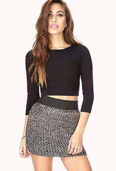 Striking Sequined Mini Skirt   FOREVER 21 - 2000128836