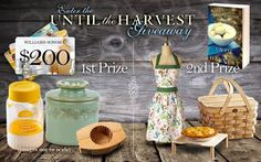 GIVEAWAY! Enter the Until the Harvest Giveaway by Sarah Loudin Thomas, giveaway ends 5/18/15.