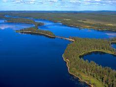 Tiilikkajärvi National Park. Photo: Lentokuva Vallas Oy