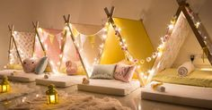 Sleepee Teepee - taking sleepovers to the next level of fabulous fun