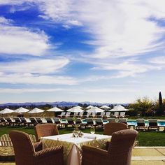 Table with a view. Thanks for sharing @robinleev. #carnerosinn #traveltuesday #travel #view #napavalley #visitnapavalley