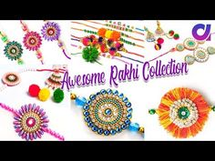 11 Awesome Rakhi to make at home Art N Craft, Craft Work, Handmade Rakhi Designs, Diy Flowers, Flower Diy, Friendship Wishes, Rakhi Making, Fun Crafts, Paper Crafts
