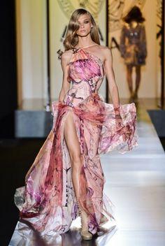 Défilé Versace Haute Couture Automne Hiver 2012 2013
