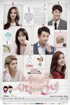 My Lovable Girl | Drama cool. EXCITED!!!! its Rain!!!!! Rains' comeback drama... Drools!!!!  so romantic comedy. i was dying to see rain after full house so he did comeback. the story revolves around a guy who lost his girlfriend in an accident. but then(wait for it!!!) he ends up helping his girlfriends' sister who doesn't(blah...blah..) really know who he is. so the twists turns... oh.. oh... it's a music based drama. i did get thru the episodes and its still airing...