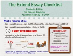 IB tips and advice: also Extended Essay and CAS?