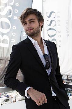 Boss Black Suit men style