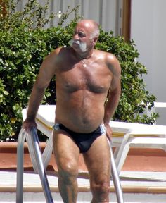 Walrus Whiskers - In a Speedo
