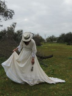 Novia Ibicenca natural cottom  Tony Bonet Victorian, Natural, Dresses, Fashion, Style, Dream Dress, Vestidos, Moda, Fashion Styles