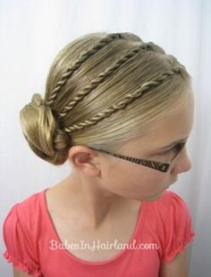 August 26, 2015- Mom Fuse: Cute Hair Styles For Girls + Hair Care Tips