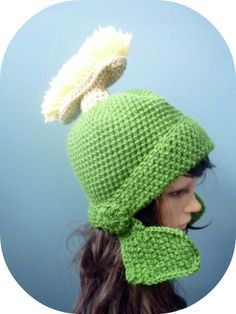 368c2550aa7 Marvin the Martian Green Crochet Helmet----- I so need this!