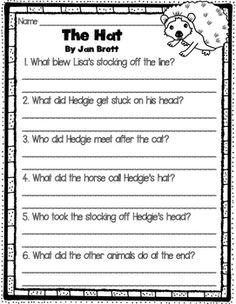 Jan Brett Books Comprehension Questions