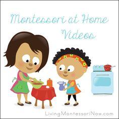 Montessori Monday - Free Montessori at Home Videos - LivingMontessoriNow.com