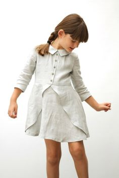 Luna Dress Grey | MOTORETA