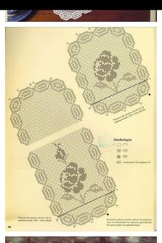 Filet Crochet Charts, Cards, Maps, Playing Cards
